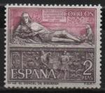 Stamps Spain -  El Doncel, Catedral de Siguenza ( Guadalajara)
