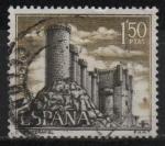 Stamps : Europe : Spain :  Castillos d´España (Pechafiel Valladolid)