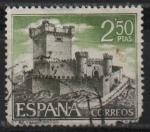 Stamps Spain -  Castillos d´España (Sobroso Pontevedra)