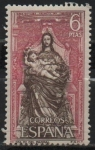 Sellos de Europa - España -  Monasterio d´Santa Maria d´Parral (La Virjen y El Niño)