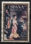 Sellos del Mundo : Europa : España : Navidad (Nacimiento 1968)