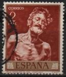 Stamps Spain -  Viejo desnudo al Sol