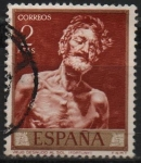 Sellos del Mundo : Europa : España : Viejo desnudo al Sol