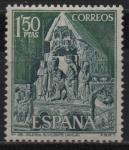 Sellos de Europa - España -  Iglesia d´San Vicente Avila