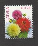 Stamps : Europe : Latvia :  Dalias