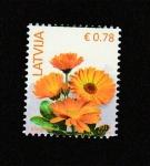 de Europa - Letonia -  Botón de oro
