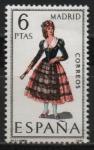 Stamps Spain -  Madrid