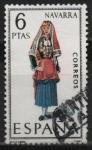 Stamps Spain -  Navarra