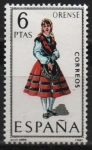 Stamps Spain -  Orense