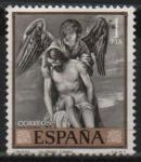 Stamps Spain -  Cristo y el Angel