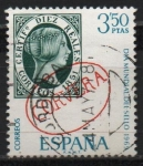Sellos de Europa - España -  Dia mudial d´sello ( Marca prefilatelia d´Corvera Santander)