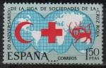 Sellos de Europa - España -  L aniversario d´l´Liga d´sociedades d´l´Cruz Roja