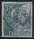 Stamps Spain -  Dama d´Elche (Alicante)