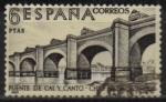 Sellos de Europa - España -  Puente d´Cal y Canto sobre el rio Mapocho