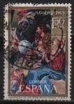 Sellos de Europa - España -  Navidad Adoracion d´l´Reyes)