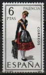 Stamps Spain -  Palencia