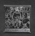 Stamps : Africa : Gambia :  Papa Juan Pablo II (SCOTT 2977)