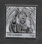 Stamps : Africa : Gambia :  Papa Juan Pablo II (SCOTT 2989)