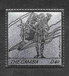 Stamps : Africa : Gambia :  2991 - Papa Juan Pablo II