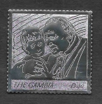 Sellos de Africa - Gambia -  Papa Juan Pablo II (SCOTT 2992)