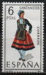 Stamps Spain -  Santander