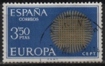 Stamps Spain -  Europa-CETP. 1970