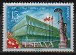 Sellos de Europa - España -  Cincuentenario d´l´Feria d´Barcelona