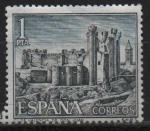 Stamps Spain -  Castillos d´España (Valencia d´Don Juan)