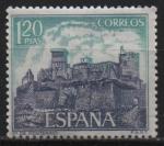 Sellos de Europa - España -  Castillos d´España (Monterrey Verin Orense))