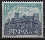 Stamps Spain -  Castillos d´España (Monterrey Verin Orense))