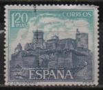 de Europa - España -  Castillos d´España (Monterrey Verin Orense))