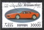 Sellos del Mundo : Asia : Afganistán : Ferrari GTO