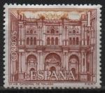 Sellos de Europa - España -  Catedral d´Malaga