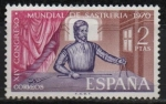Stamps Spain -  XIV Congreso Mundial d´Sastreria