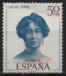Stamps Spain -  Conchita Espina