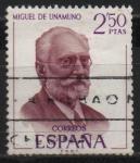 Sellos de Europa - España -  Miguel d´Uramuno