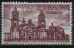 Sellos de Europa - España -  Catedral d´Mejico