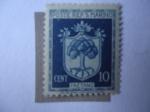 Sellos de Europa - San Marino -  Escudo de Armas - Faetano.