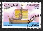 Sellos de Asia - Afganistán -  Barcos, Danish Warship