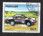 Sellos del Mundo : America : Paraguay : Coches de rally, 911 44