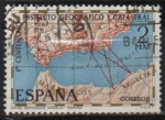 Sellos de Europa - España -  Centenario d´instituto Geografico y Catastral