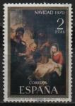 Stamps : Europe : Spain :  Navidad (Adoracion d´l´Pastores)