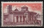 Sellos de Europa - España -  Monasterio d´Santa Maria d´Ripoll (Abside)