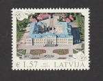 Stamps : Europe : Latvia :  Palacio de Rundäle