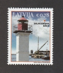 Stamps : Europe : Latvia :  Faro de Salagrivas