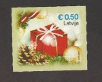 Stamps Latvia -  Navidad 2015
