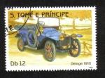 Sellos de Africa - Santo Tomé y Principe -  Automóviles, Delage 1910