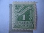 Stamps Europe - Greece -  Postage Due - Enapiomon - (Sello sin nombre de país)