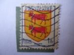 Stamps Europe - France -  Escudo de Armas de Bearn- (Beneharnum, su capital)