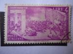 Stamps Europe - Italy -  Revolución de 1948 (en Paris y Viena)